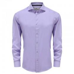 Bamboo shirt men lilac