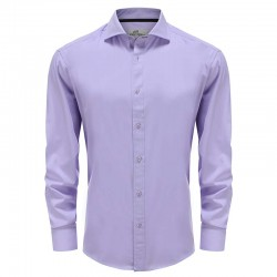lilas bambou hommes chemise