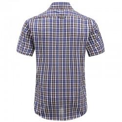 Magnatic shirt mens short sleeve, loose fit model