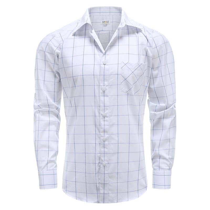 Men MYLE shirt long sleeve with magnets Pocket