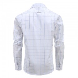 Magnatic chemise à manches longues homme-shirt, modèle coupe large