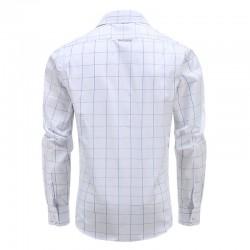 Magnatic shirt shirt men's long-sleeved, loose fit model