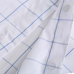Magnetic shirt processed with magnets in the fabric