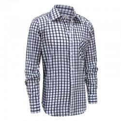 Männer Langarm-Shirt mit Knöpfen, Parkinson, Arthritis