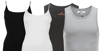Maillots de corps homme et femme | Ollies Fashion