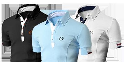 Slim Fit Herren Poloshirts limitierte Auflage | Ollies Fashion