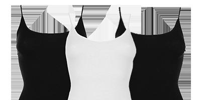 Top spaghetti pour femmes en 95% de bambou | Ollies Fashion