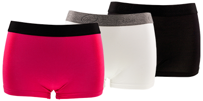 Hipster femme bambou boxers | Ollies Fashion