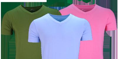 Tshirt 95 procent bamboe heerlijk zacht en koel | Ollies Fashion