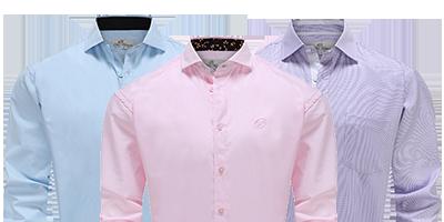 Moderne katoenen overhemden voor heren | Ollies Fashion