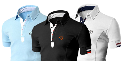 Slim fit polo shirts | Ollies Fashion